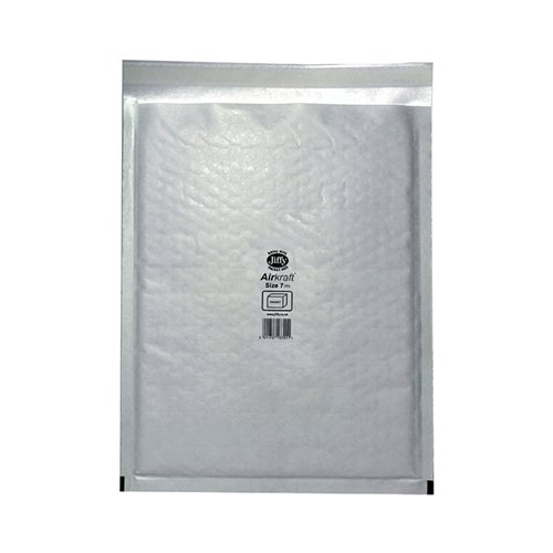 Jiffy AirKraft Bag Size 7 340x445mm White (Pack of 50) JL-7