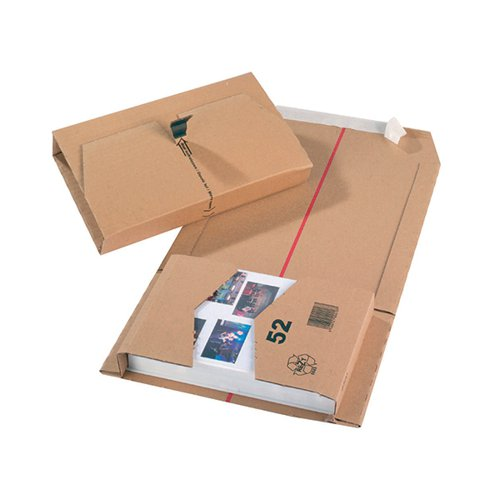 Mailing Box 251x165x60mm Brown (Pack of 20) 11208
