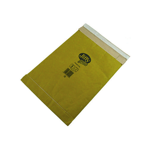 Jiffy Padded Bag Size 0 135x229mm Gold PB-0 (Pack of 10) 1215