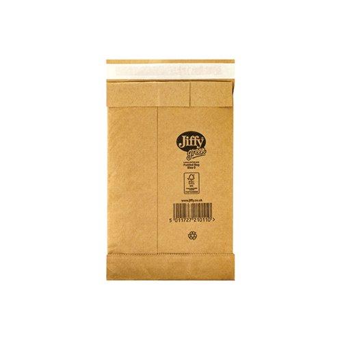 Jiffy Padded Bag Size 0 135x229mm Gold PB-0 (Pack of 200) JPB-0