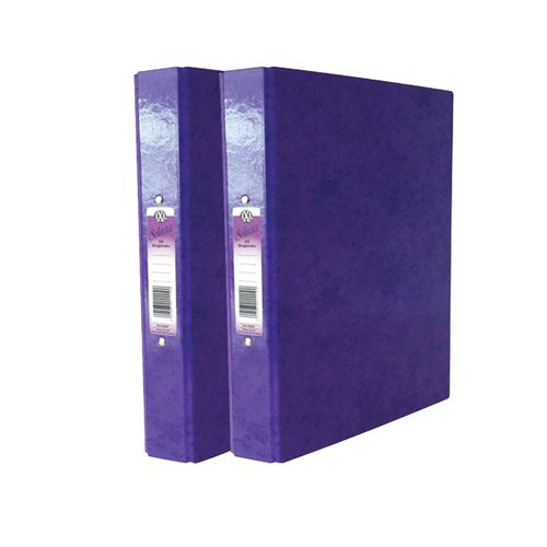 Image for Concord IXL A4 Purple Ring Binder (Pack of 10) BOGOF JT816024
