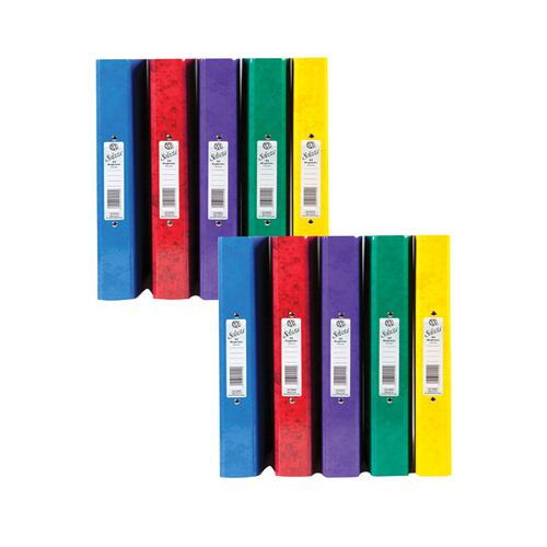 Image for Concord IXL A4 Assorted Ring Binder (Pack of 10) BOGOF JT816026