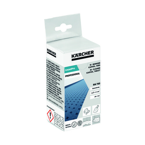 Karcher Professional Carpet Cleaning Tablets (Pack of 16) 6.295-850.0