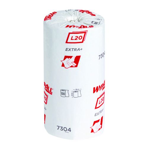 Wypall L20 Blue Wipers Small Roll (Pack of 24) Sheets 7304