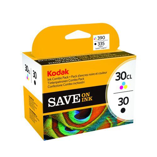 Kodak 30B/30C Black /Colour Inkjet Cartridges (Pack of 2) 8039745