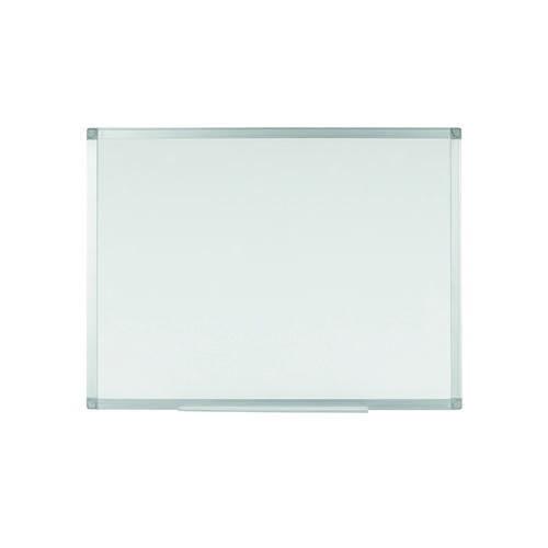 Q-Connect Aluminium Magnetic Whiteboard 1200x900mm 9700032 KF01080