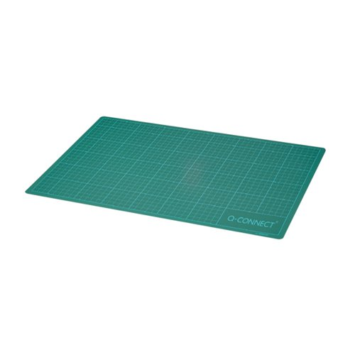Q-Connect Cutting Mat Non-Slip A1 Green KF01138