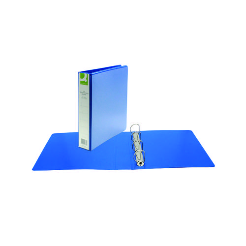 Q-CONNECT A4 BLUE PR 4D-RING 40MM BINDER