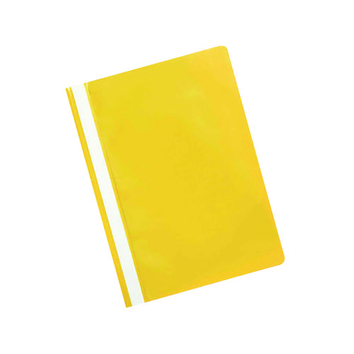 Q-CONNECT A4 YELLOW PROJECT FOLDER PK25