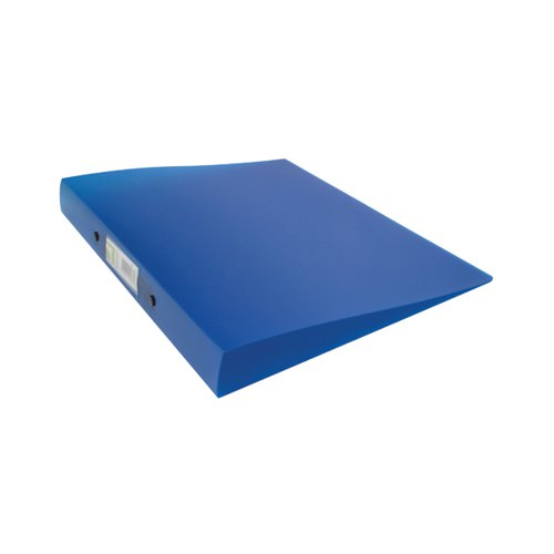 Q-CONNECT A4 FROSTED BLUE 2 RING BINDER