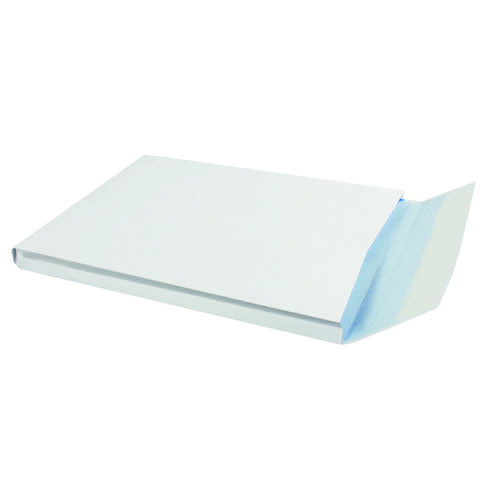 Q-Connect C4 Envelopes Window Gusset Peel and Seal 120gsm White (Pack of 125) KF02891