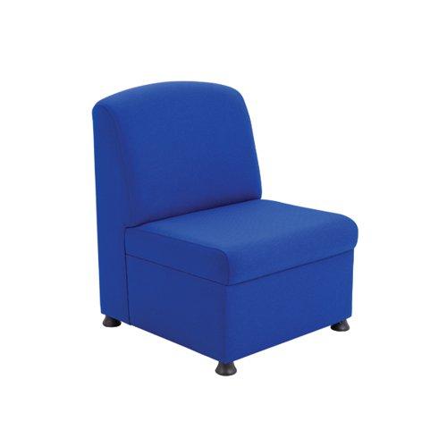 Arista Blue Modular Reception Chair KF03489