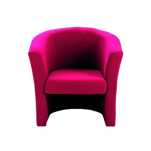 Arista Claret Tub Chair Fabric KF03523