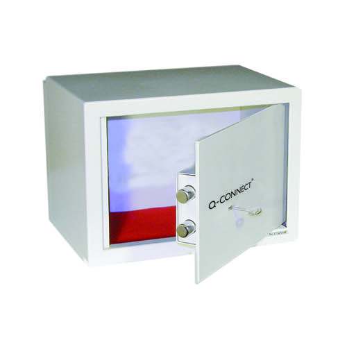 Q-Connect Key-Operated Safe 10 Litre 200x310x200 KF04388