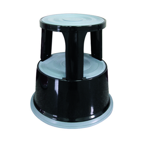 Q-Connect Black Metal Step Stool