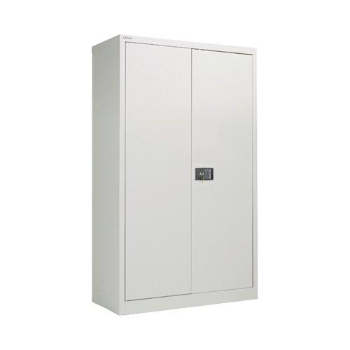 Image for Jemini 2 Door 1806mm Storage Cupboard Grey KF08087