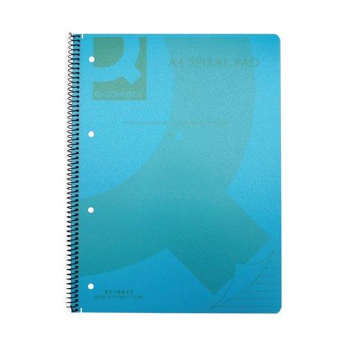 Q-Connect Blue 0.4mm Fineliner Pen Pack of 10 KF25008