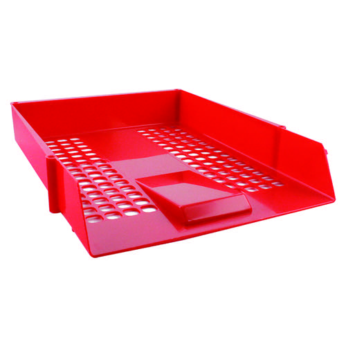 Q-Connect Letter Tray Red CP159KFRED