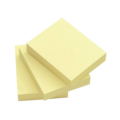 Q-Connect Quick Notes 51 x 76mm Yellow (Pack of 12) KF10501