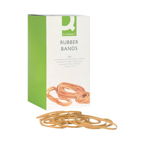 Q-Connect Rubber Bands No.36 127 x 3.2mm 500g KF10542