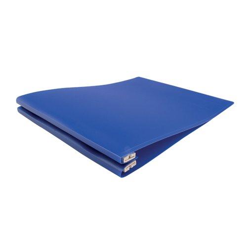 Q-CONNECT 260MM BLUE PRINTOUT BINDER PK6