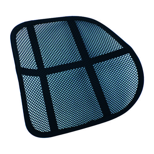 Q-Connect Black Mesh Back Support