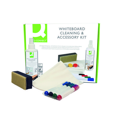 Q-Connect Whiteboard Cleaning and Accessory Kit AWAK000QCA