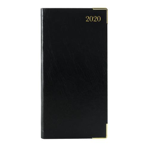 Executive Diary Slim Week to View 2020 Black KF1GCBK20