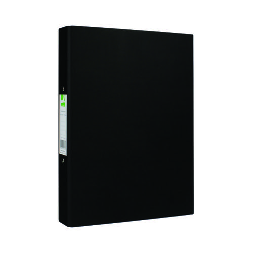 Q-CONNECT BLACK 2 RING A4 BINDER PK10
