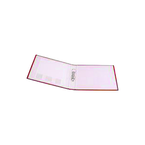 Q-Connect 2 Ring 25mm Paper Over Board Red A4 Binder (Pack of 10) KF20036