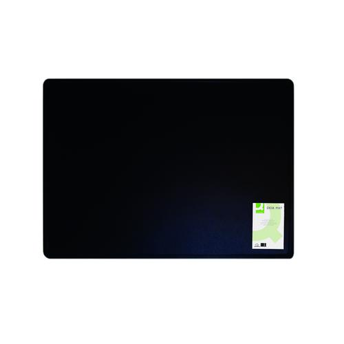 Q-Connect Desk Mat Black (W530 x D400mm, Foam back) KF26802