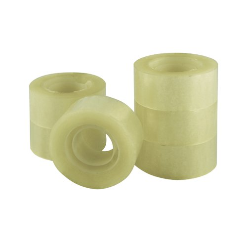 Q-Connect Adhesive Tape 24mm x 33m (Pack of 6) KF27014