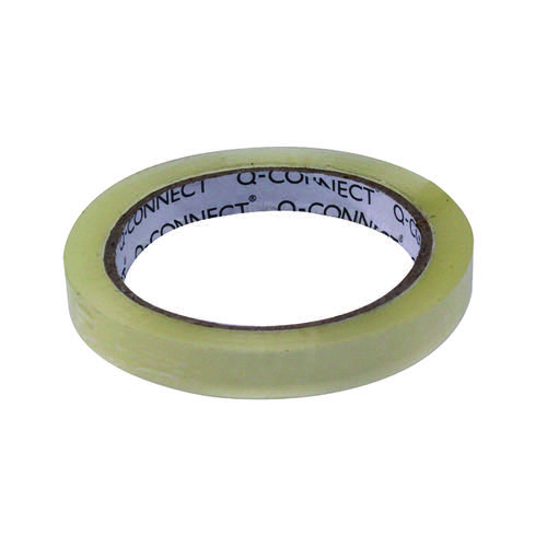 Q-Connect Easy Tear Polypropylene Tape 12mm x 66m KF27015X