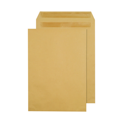 Q-Connect Envelope C4 90gsm Self Seal Manilla X1082/01 Pack of 250