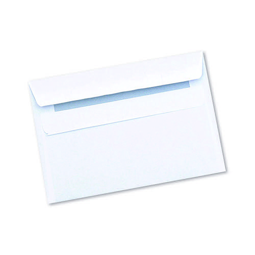 Q-CONNECT WHTE C6 S/SEAL ENVELOPE PK1000