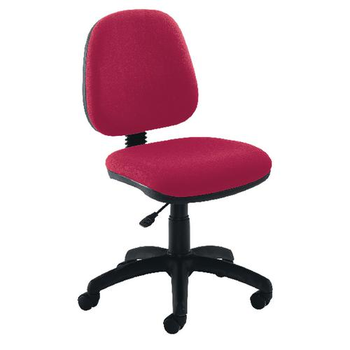 JEMINI MEDIUM BACK CLARET OPERATOR CHAIR