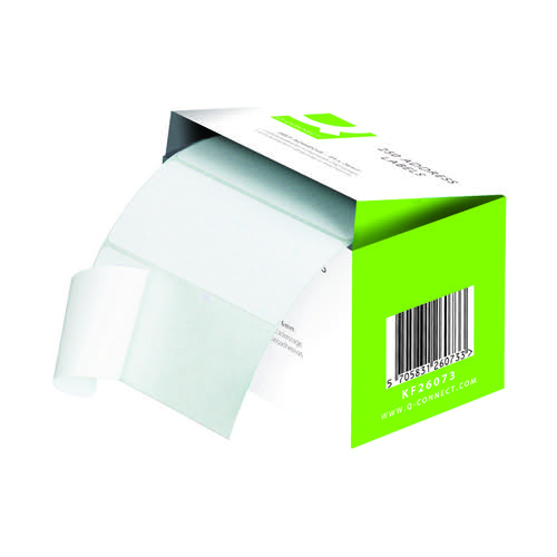 Q-Connect Adhesive Address Label Roll 102 x 49mm 0073024 Pack of 180