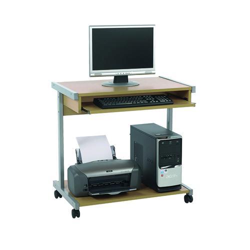 Serrion Mobile Workstation 650mm Ferrera Oak ECS650OK