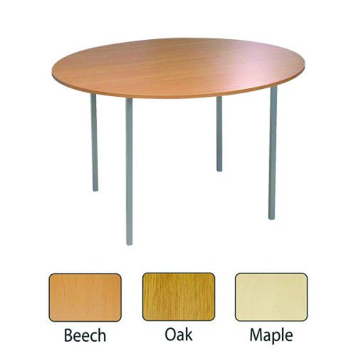 JEMINI BEECH 1200MM CIRCULAR TABLE