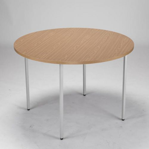 JEMINI OAK 1200MM CIRCULAR TABLE