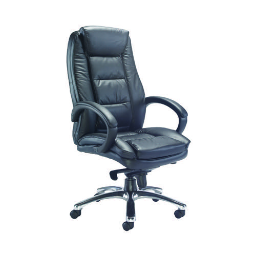 AVIOR TUSCANY CONTEM EXEC LEATHER CHAIR