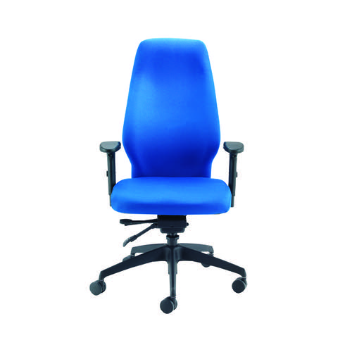 AVIOR BLUE S/DLX X-HI/BACK POSTURE CHAIR