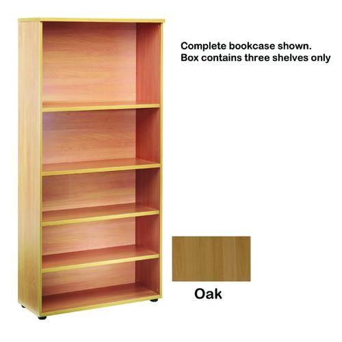 Jemini Open Storage Shelf Oak KF73699