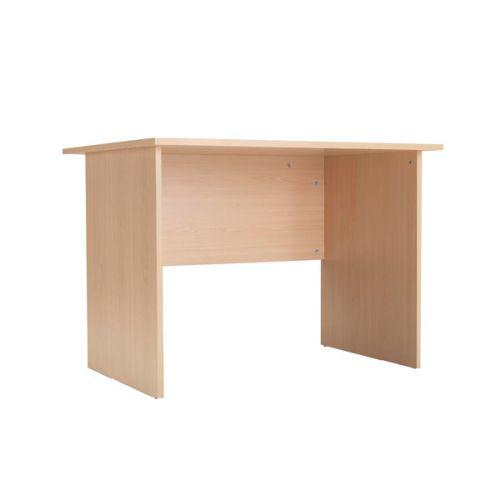 Serrion Warm Maple 1000mm Panel End Desk (Dimensions: W1000 x D750 x H726mm) KF74127