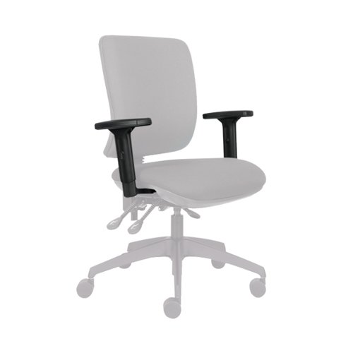 Jemini 1D Adjustable Chair Arms (Pack of 2) KF74953