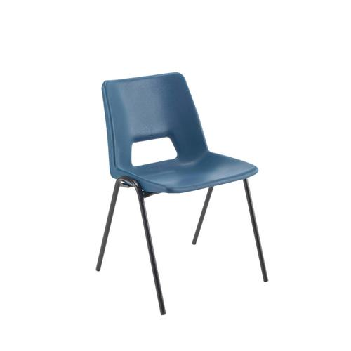Jemini Polypropylene Stacking Chair 310mm Blue KF74981