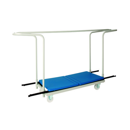Titan Folding Exam Desk Trolley 40 Capacity