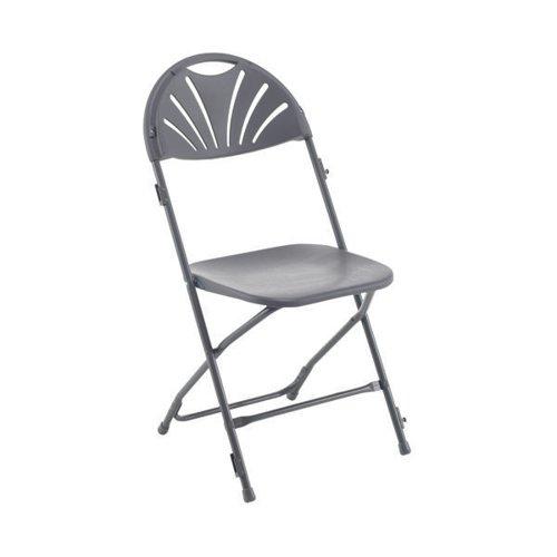 Titan Folding Chair Charcoal KF78657