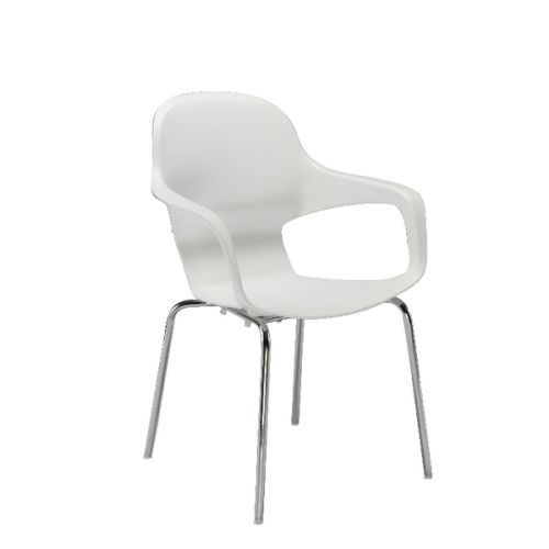 FF ARISTA CAFE BISTRO CHAIR WHITE