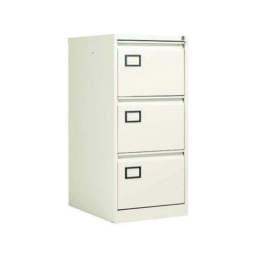 Jemini 3 Drawer Filing Cabinet White KF78707